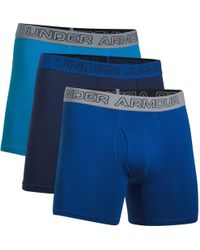 Under Armour - Charged Cotton Stretch 6in Boxerjock - 3 Pack - Lyst