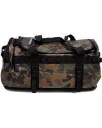 The North Face - Base Camp Duffel Bag Xs Green Print Green - Lyst