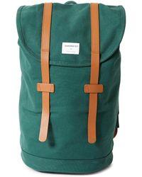 Sandqvist - Stig Backpack Green - Lyst