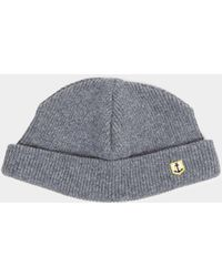 3f8e61b5a39 Lyst - Armor Lux Heritage Plain Beanie in Gray for Men