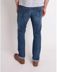 CALVIN KLEIN 205W39NYC - Jeans Slim Straight Jean Blue - Lyst