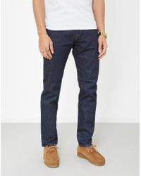 Paul Smith - Tapered Fit Jeans Rinse Cross Hatch - Lyst