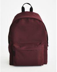 The Idle Man - Backpack Burgundy - Lyst