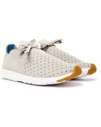 Native Shoes - Apollo Moc Trainer Grey - Lyst