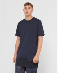 G-Star RAW - Occotis Crowd Long Sleeve T-shirt Navy - Lyst