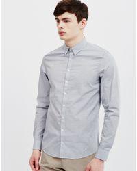 Vito - Cort Ben Shirt Grey - Lyst