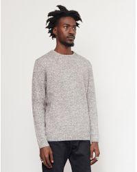 WOOD WOOD - Zachary Sweater Grey - Lyst