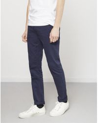 Farah - Slim Fit Jeans Navy - Lyst