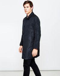 YMC - Numanoid Coat Black - Lyst