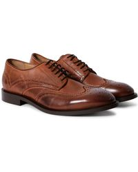 Hudson Jeans - Witman Calf Brogues Brown - Lyst