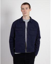 Albam - Pressed Shirt Blue - Lyst