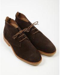 Hudson Jeans - Bedlington Suede Chukka Boot Brown - Lyst