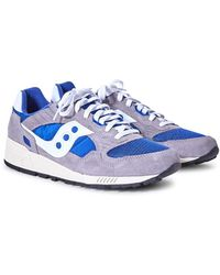 Saucony - Shadow 5000 Vintage Trainer Grey & Blue - Lyst