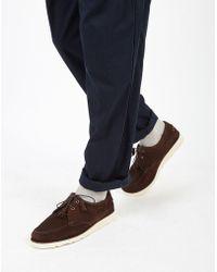 G.H.BASS - Weejun Wedge Tie Reverso Universal Works Loafer Brown - Lyst