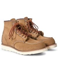 Red Wing - Heritage Classic Moc Toe Leather Olive - Lyst