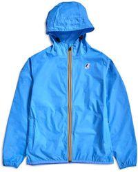 K-Way - Le Vrai 3.0 Claude Jacket Azure Blue - Lyst