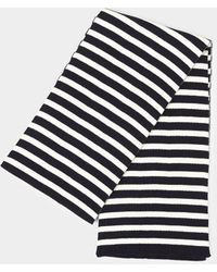 Armor Lux - Echarpe Rayee Guidel Heritage Scarf Navy & White - Lyst