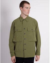 Kestin Hare - Dunvegan Usmc Overshirt Jacket Khaki - Lyst