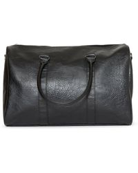 a26e71a70a Lyst - The Idle Man Barrel Bag Navy   White in Blue for Men