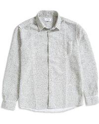 Soulland - Greene Slub Shirt White - Lyst