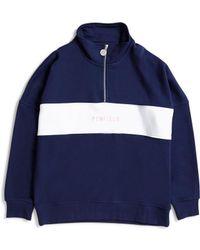 Penfield - Hosmer Sweatshirt Blue - Lyst
