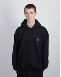 The Idle Man - Born Idle Chest Signature Hoodie Black - Lyst