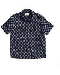 Folk - Gabe Short Sleeve Shirt - Lyst