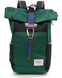 Master Piece - Link Roll Top Backpack Green - Lyst