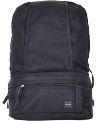 Porter - Trip 2way Waist Bag Black - Lyst