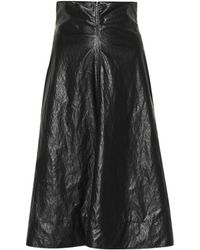 Philosophy - Faux Leather Skirt - Lyst
