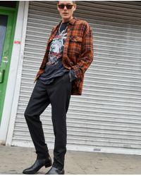 The Kooples - Black Zip Detail Wool Trousers - Lyst