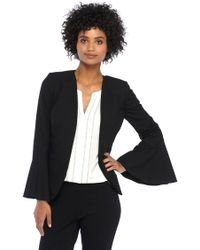 The Limited - Petite Bell Sleeve Jacket - Lyst