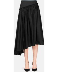 Lemaire - Gathered Skirt - Lyst