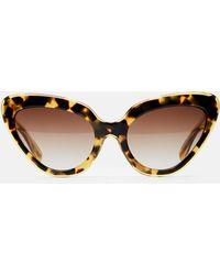 Erdem - Cat Eye Sunglasses - Lyst