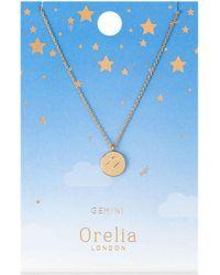 Orelia - Leo Constellation Necklace - Lyst