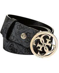 Guess - Florence Adjustable Belt - Lyst