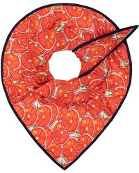 POM Amsterdam - Shawl Oranges - Lyst