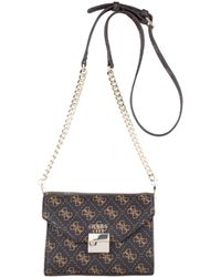 Guess - Mia Mini Crossbody Flap Bag - Lyst