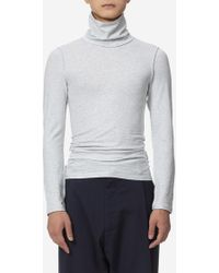 Vetements - Fitted Inside-out L/s Turtleneck - Lyst