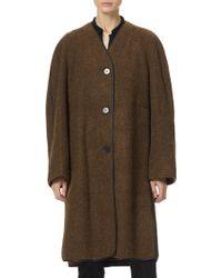 Lemaire - Soft Wool Coat - Lyst