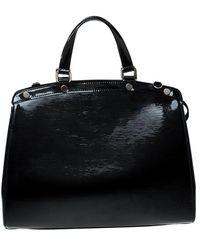 Louis Vuitton - Black Electric Epi Leather Brea Gm Bag - Lyst