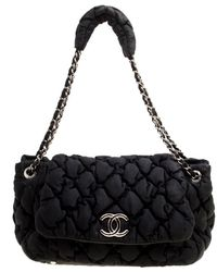 4635389257c0 Chanel Quilted Iridescent Leather Large New Bubble Flap Bag in Red ...