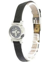 Louis Vuitton - Stainless Steel Diamond Tambour Bijou Women's Wristwatch 18mm - Lyst