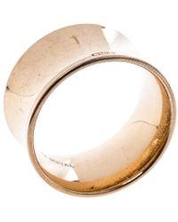 Tiffany & Co. - 1837 Rubedo Wide Ring - Lyst