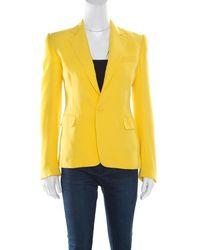 Ralph Lauren - Collection Silk Crepe Keaton Jacket S - Lyst