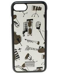 Dolce & Gabbana - Off Jazz Instruments Iphone 7 Case - Lyst
