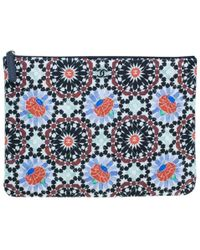 Chanel - Multicolored Flower Limited Clutch - Lyst