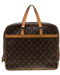 Louis Vuitton - Monogram Canvas Porte Documents Pegase Soft Briefcase Bag - Lyst
