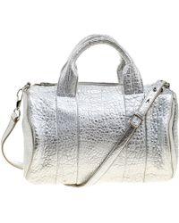 Alexander Wang - Pebbled Leather Rocco Duffel Bag - Lyst