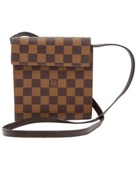 Louis Vuitton - Damier Ebene Canvas Cd Case Holder - Lyst